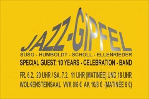 Jazz-Gipfel Flyer neu (Vorderseite)